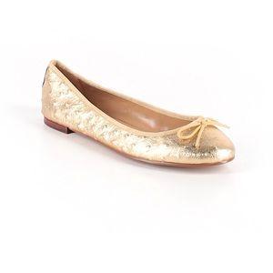 Banana Republic Gold Ballerina Flats. Size 7.